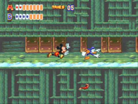 World Of Illusion Starring Mickey Mouse And Donald Duck 2 Player Netplay Game