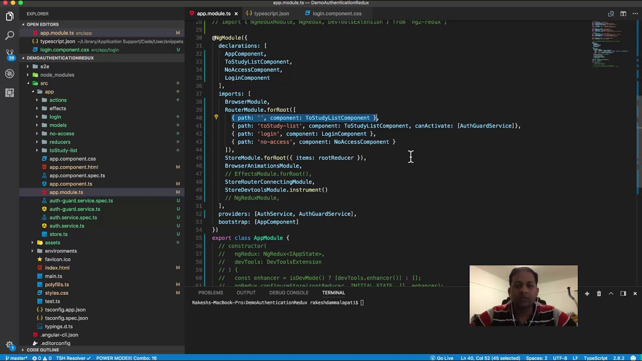 Creating code snippets in visual studio code