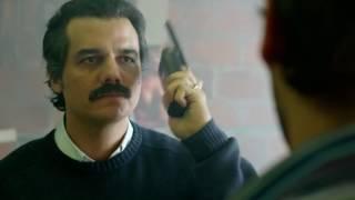"""Narcos - Pablo Escobar:""""Malparido, nosotros vamos por usted y esa perra"""""""