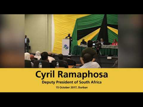 South African President Cyril Ramaphosa on Palestine & Israeli Apartheid