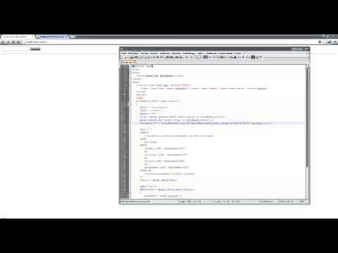 HTML & PHP Tutorial - Suche In Datenbank (User-Anfrage)