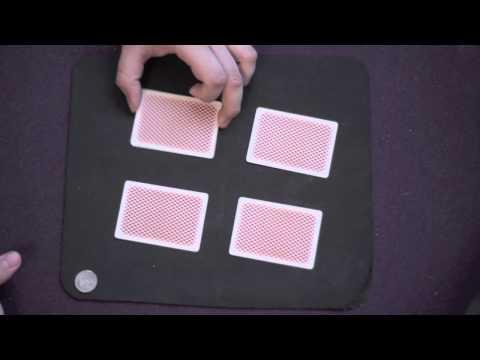 Эфектный Фокус с колодой карт и монеткой (ментализм)