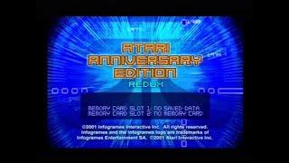 Gameplay Ps1 - Atari Anniversary Edition Redux PAL (2001)