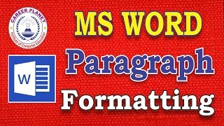 Learn Microsoft Word Paragraph Formatting in Hindi