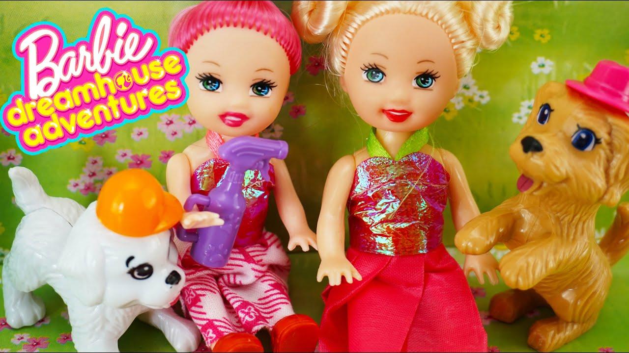 Barbie Sisters Puppy Adventures in Park - Barbie Dreamhouse Adventures Toys