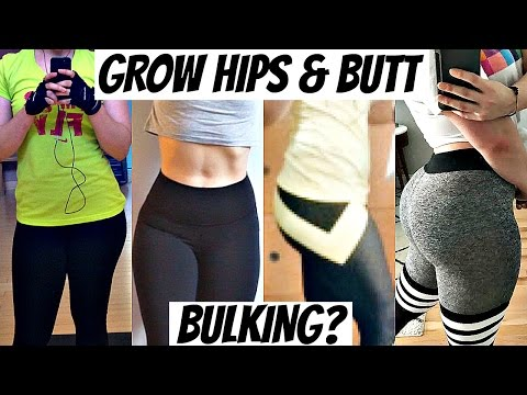 How I Grew My Hips & Glutes | Bulking for Women (Grew 3 Inches!)