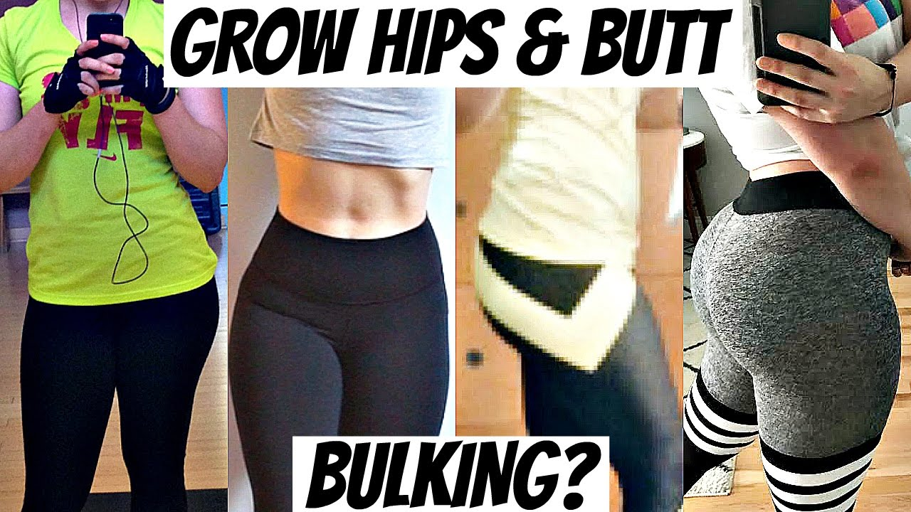 How I Grew My Hips Glutes Bulking For Women Grew 3 Inches Youtube