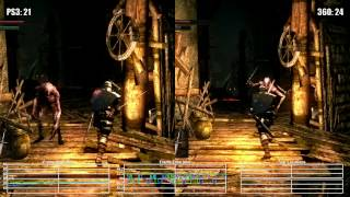 Dark Souls: PS3 vs Xbox 360 Blighttown Frame Rate Test(, 2015-06-27T16:13:07.000Z)