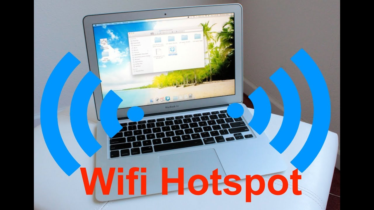 How to distribute wifi from a laptop 13
