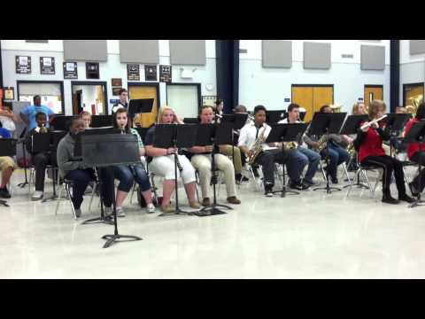 ERHS/ERMS band,Call ForPeace 3/13/12