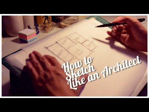HOW TO SKETCH LIKE AN ARCHITECT | sketchawayray