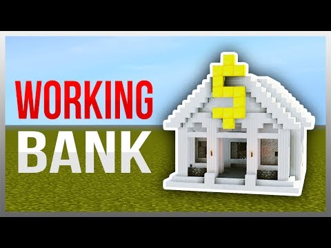 ✔️ Working REDSTONE Bank (Redstone Tutorial)
