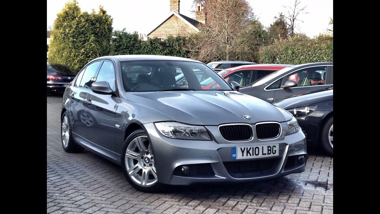 bmw 3 series 2 0td 318d m sport 4dr for sale at cmc cars near brighton sussex youtube. Black Bedroom Furniture Sets. Home Design Ideas
