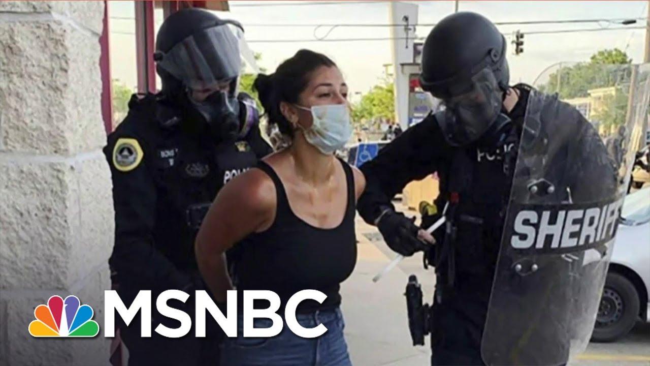 Reporter Arrested at Black Lives Matter Protest Shares Warning For Democracy | MSNBC