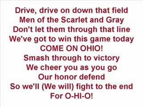 Ohio State Buckeyes - Fight Song (