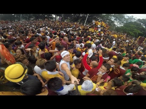 Surrounded by Millions of Filipinos - Nazareno 2017