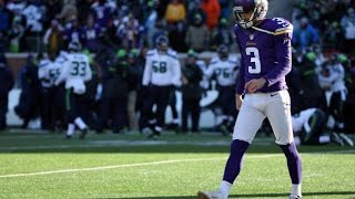 The Blair Walsh Project- Missed Field Goals