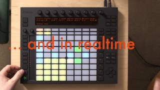 Playing Drums and Samples with Ableton Push