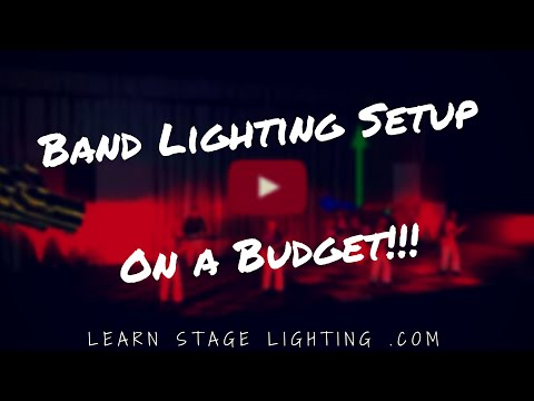 Band Lighting Setup on a Budget