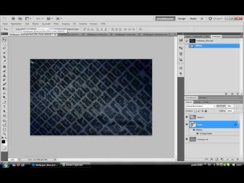 Photoshop tutorial texturen wallpaper erstellen youtube - Wallpaper erstellen ...