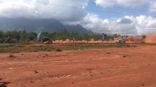 Gurjit Dhani in Mkwawa Rally of Morogoro 2018