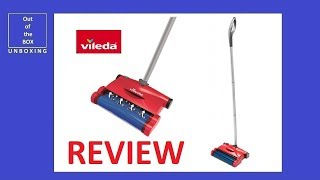 REVIEW Vileda Easy Sweep Rechargeable Cordless Sweeper (quick & clean)