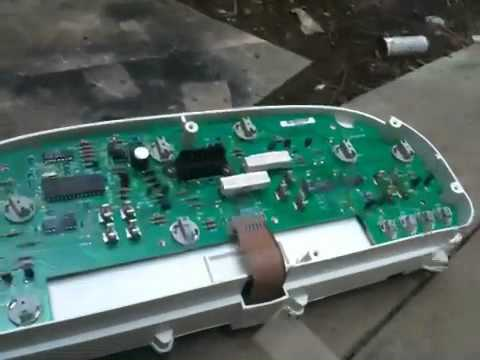 Repair instrument cluster 1999 dodge caravan  YouTube