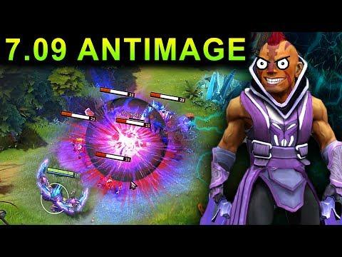 NEW ANTIMAGE PATCH 7.09 DOTA 2 NEW META GAMEPLAY #28 (gattu ANTIMAGE)
