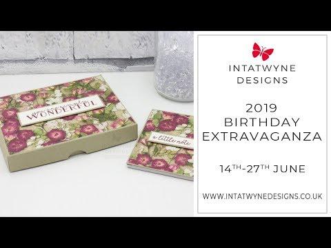 Birthday Extravaganza - #11 Stationary Gift Set Tutorial
