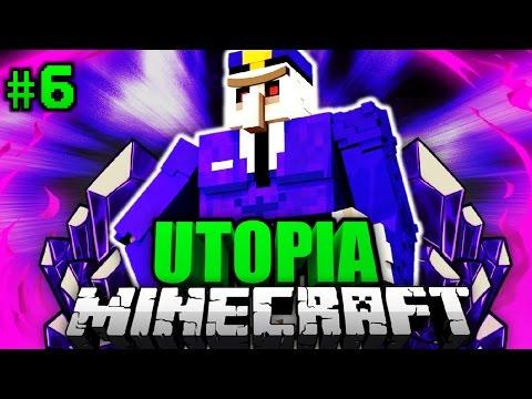 Die POLIZEI IST DA?! - Minecraft Utopia #006 [Deutsch/HD]