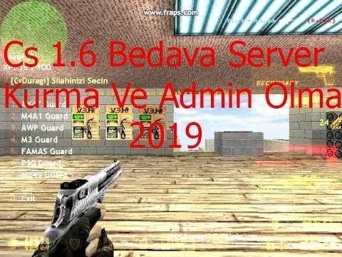 cs 1 6 server kurma + panel kurma + port acma