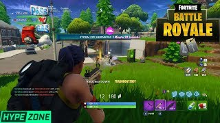 MY FIRST TIME GETTING HYPEZONE FORTNITE ON MIXER [FORTNITE BATTLE ROYALE]