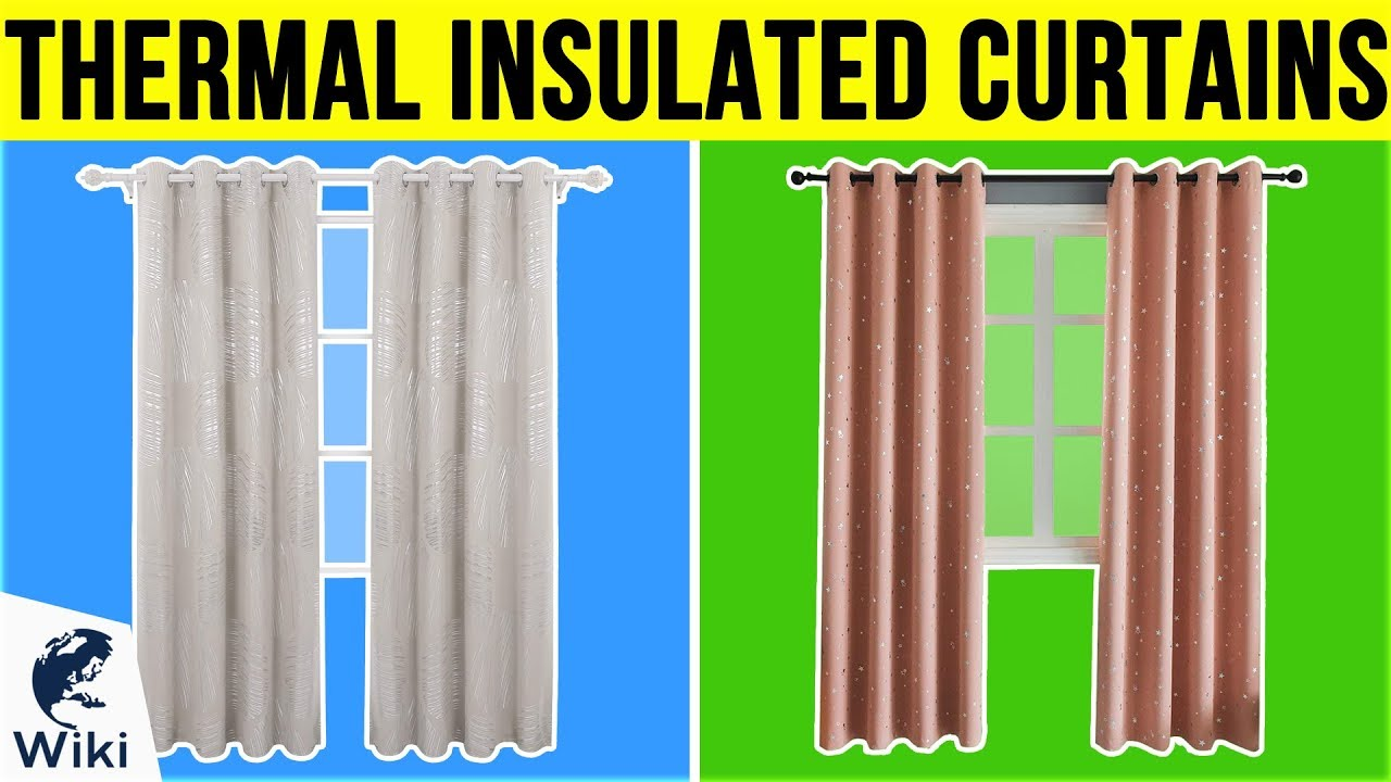 10 Best Thermal Insulated Curtains 2019 Youtube