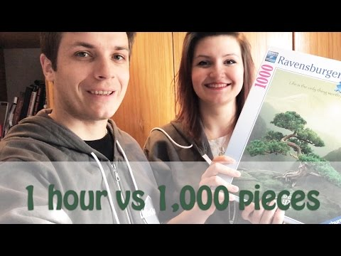 1-Hour Puzzle Challenge (1000 Pieces)
