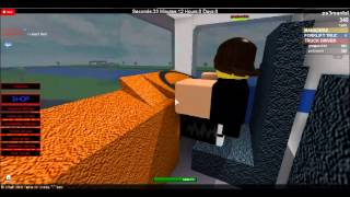 Playing Trucking Simulator On ROBLOX