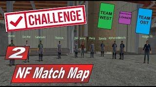 NF Match Map Multiplayer Duell #2 Wir geben direkt Vollgas #MP Management FS17 LS17 Mega Challenge