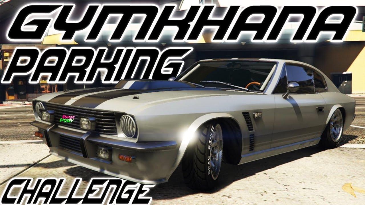 GTA 5 ONLINE - CHALLENGE BY POWA #6 : GYMKHANA PARKING !