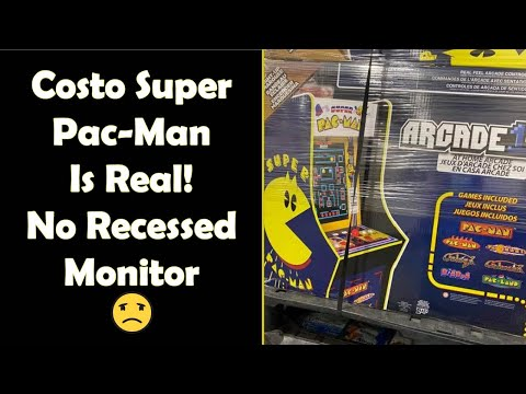 The Costco Super-Pac from Arcade1up IS REAL! It's Also Less Awesome Than The Prototype from Unqualified Critics