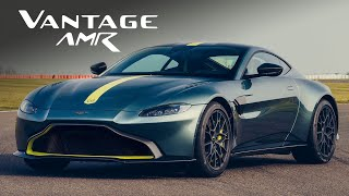 MANUAL Aston Martin Vantage AMR: Road Review | Carfection 4K