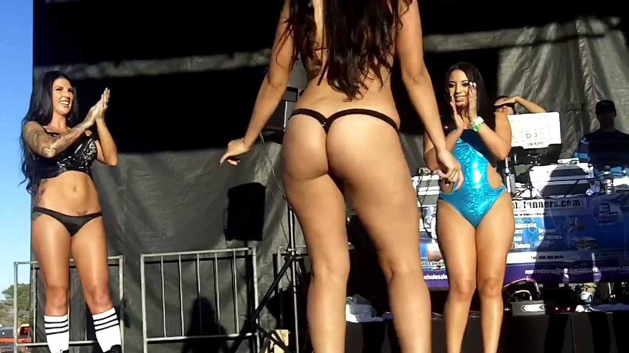 Bikini contest car shows videos