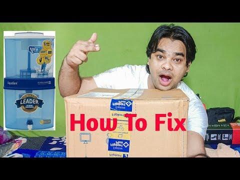 How To Fix Eureka Forbes Aqua Sure Water Purifier Full Process In Hindi Urdu