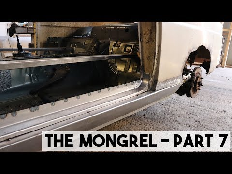 THE MONGREL PART 7, THE 100E IS WELDED TO THE MX5 FOREVER MORE