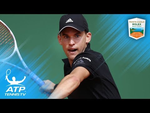Thiem Sets Nadal Clash, Dimitrov Electrifies | Monte-Carlo 2018 Highlights Day 5