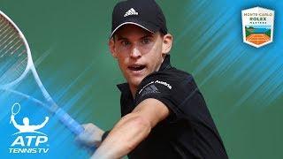Thiem Sets Nadal Clash, Dimitrov Electrifies   Monte-Carlo 2018 Highlights Day 5