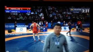 quarterfinals uww veterans world championships