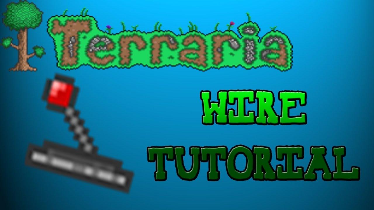 Terraria Wiring Tutorial