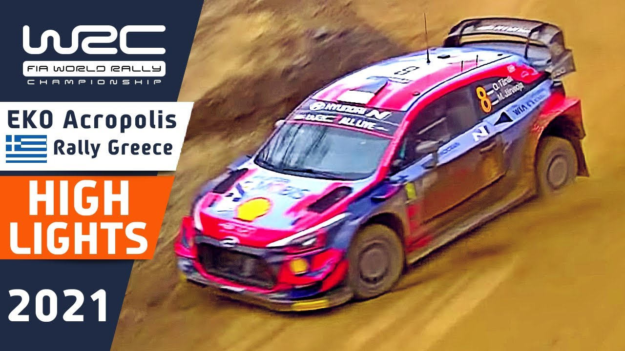 WRC Rally Highlights : Final Day Morning Stages : EKO Acropolis Rally Greece 2021