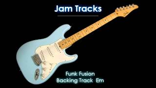 Funk Fusion Backing Track  (Em) - TheGuitarLab.net -
