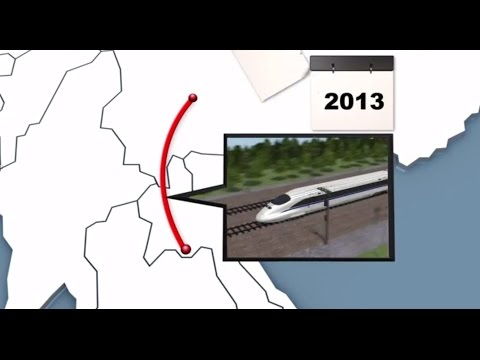 Yunnan-Singapore Link: How China is building a trans-Asia high-speed railway netowrk