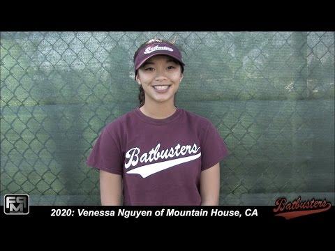 2020 Venessa Nguyen Speedy Slapper, 2nd Base & Outfield Softball Skills Video - Batbusters